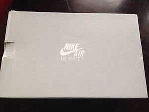 Nike Air Force 1 Black Men's Size 13