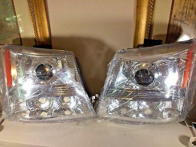 Spec-D Tuning 2LHP-SIVO3-ABM 2003-2005 Chevy Silverado Projector Head Lights (05 Chevy Silverado Spec)