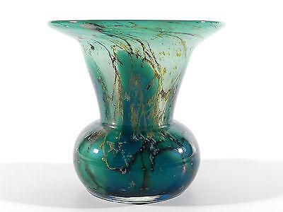 WMF Ikora Art Deco Glas Vase ° Glasvase mit Blau
