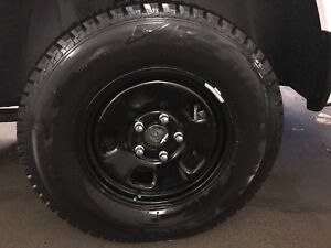 Dodge Ram winter rims and tires