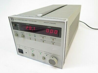 Hp Agilent 6033a System Auto Ranging Dc Power Supply 20v 30a