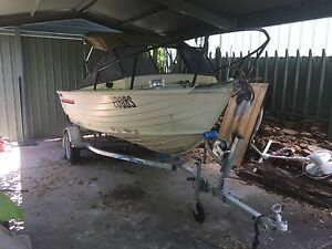 Boat Stacey 4.1 with Suzuki 30 HP newish trailer Mitchell Park Marion Area Preview
