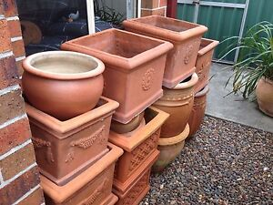 Assortment of Garden Pots Ranging From $10-$30 Maryland Newcastle Area Preview