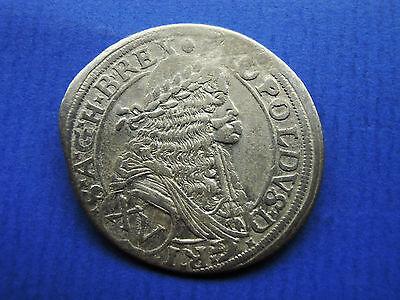 HAUS HABSBURG 15 (XV) Kreuzer 1675 Wien Leopold I (1657-1705)