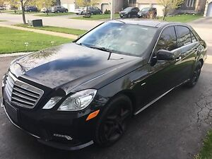 2011 Mercedes-Benz E-Class 550 AMG Sport PKG Sedan