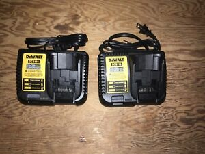 Dewalt 12v/20v Max lithium ion battery charger