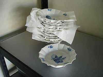 "Royal Copenhagen ""Blue Flowers"" 6 3/4"" Pickle Dish or Bowl #8556 8+ Available"