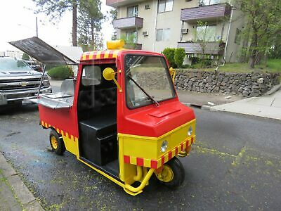 Cushman Truckster Hot Dog Food Vending Cart Truckster Mini Food Truck For Sale