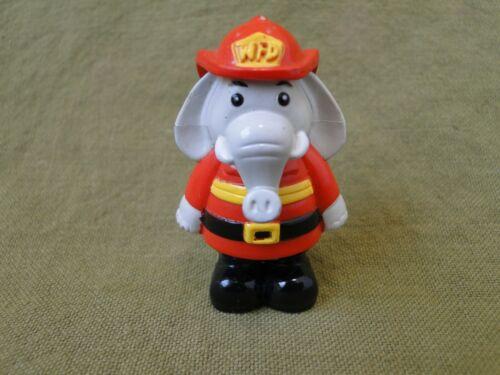Webkinz Fire Chief Elephant Figure