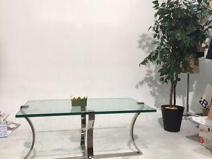 Elegant Glass Coffee Table