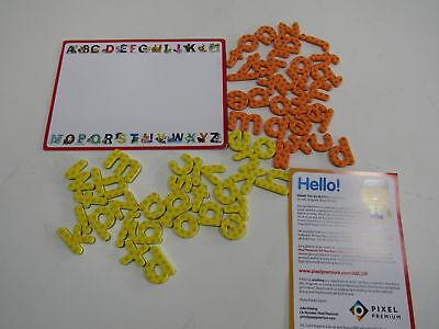 Pixel Premium ABC Magnets for Kids Gift Set - 142 Magnetic Lette (H143593)