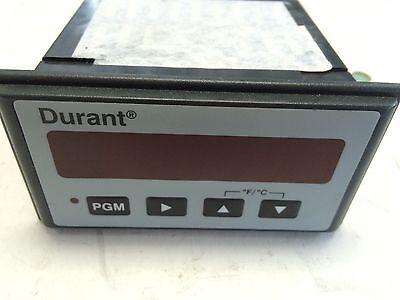 Used Eaton Corporation Meter Panel Mount Temperature 9-30vdc Durant 57700-460cd