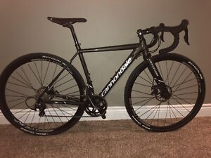 Upgraded Cannondale CAADX 105. Ridden once