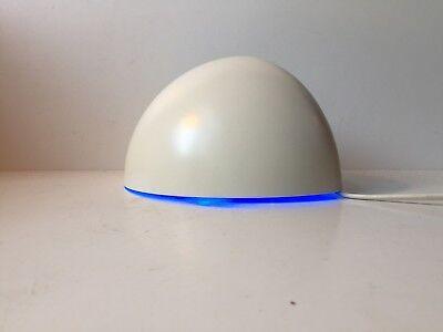 Vtg Quarto White Half Globe Sconce by Lyfa Claus Bonderup Torsten Thorup Design