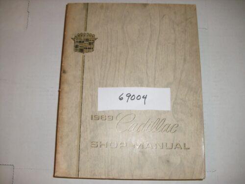 1969 CADILLAC DEALER SHOP MANUAL 160829 69004 D