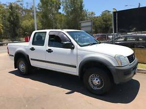 2004 Holden Rodeo Dual Cab - Manual - V6 Petrol - RWC - Driveaway Cleveland Redland Area Preview