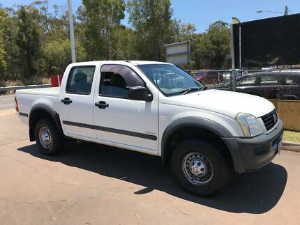 2004 Holden Rodeo Dual Cab - Manual - V6 Petrol - RWC - Driveaway Birkdale Redland Area Preview