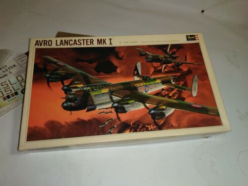 REVELL AVRO LANCASTER early kit NICE 1/72