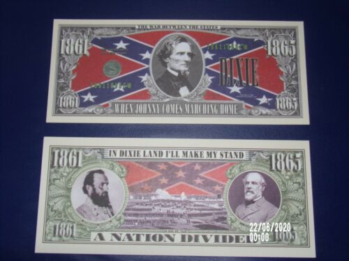 HISTORIC CIVIL WAR BANKNOTE