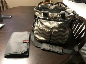 Hop skip diaper bag