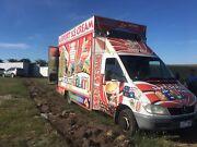 Ice cream van ice cream truck food van  food truck Meadow Heights Hume Area Preview