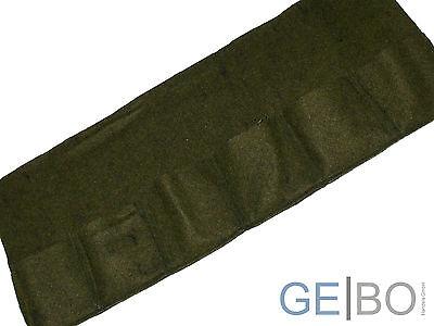 6er Pflanztasche Mini Breite ca 130cm Höhe ca 50cm aus Ufermatte mit 6 Taschen