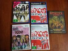 Wii & playstation 2 games Woodroffe Palmerston Area Preview