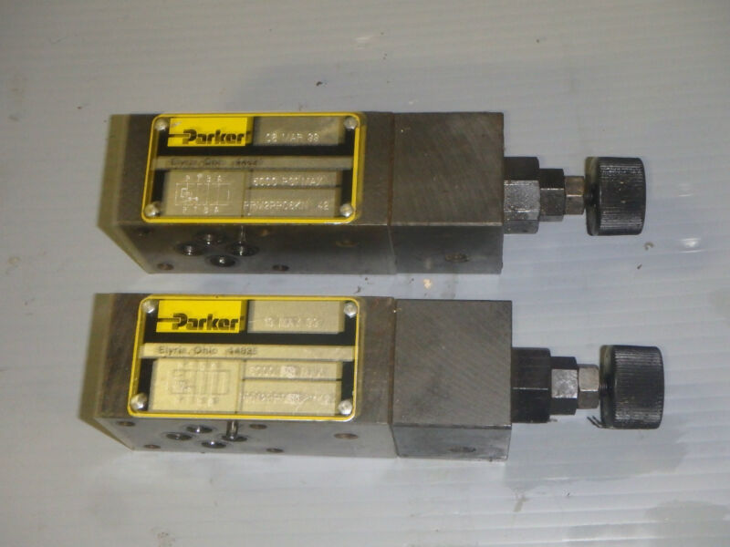 LOT OF 5 NEW PARKER SCHRADER BELLOWS P2FCB449 SOLENOID COILS
