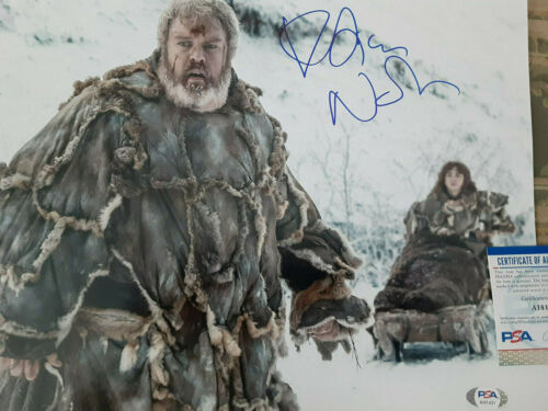 Game of thrones HODOR  Kristian Nairn autographed 11x14 photo PSA DNA Certified*