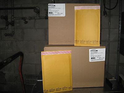 200 Ecolite Kraft Bubble Mailer Combo Pack - 100 1 100 2 - Ships Free
