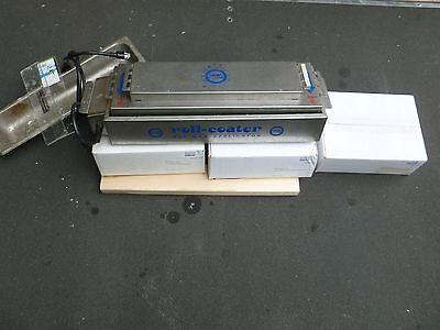 Lot of Skins Roll Coater Hot Ski Waxer Machine 3 cases of wax 2 scrapers EUC