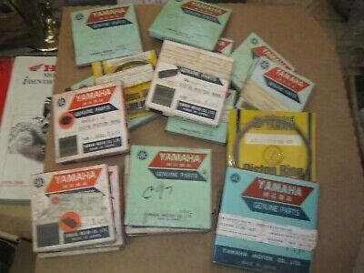 NOS YAMAHA PISTON RING SET 371-11610-23-00 2ND O/S 1973-5 TX/XS 500 C97