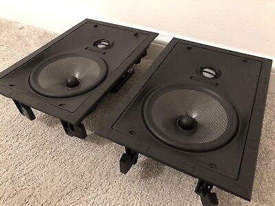 Sonance Vp68 In Wall Speakers (Pair)