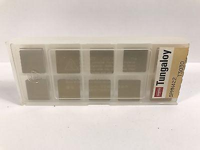 Tungaloy Spmn422 Spmn120308 New Carbide Inserts Grade T3030 10pcs Ab