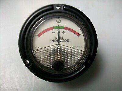 Phaostron 2 12 Round 100-0-100. Ua. Dc. Panel Meter