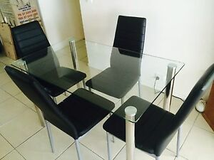 Dining Table & 4 Chairs Buderim Maroochydore Area Preview
