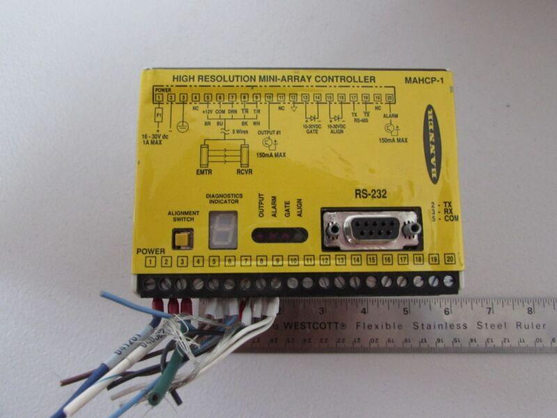 Banner High Resolution Mini-Array Controller MAHCP-1 Light Curtain Controller US