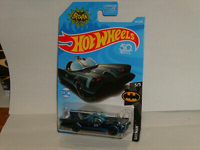 HOT WHEELS BATMAN 1966 TV SERIES BATMOBILE #307