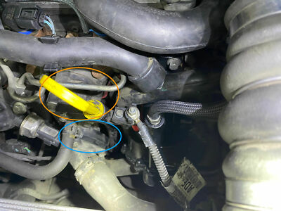 Ford-transit-connect-thermostat-und-gehaeuse