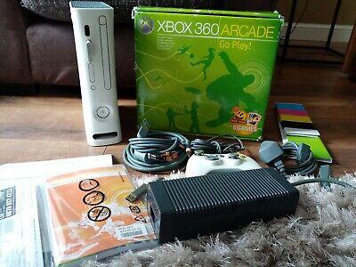 Microsoft Xbox 360 Arcade 256MB Matte White Console (PAL)