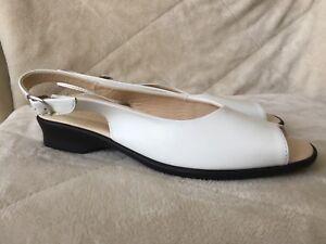 Like NEW slingback sandals