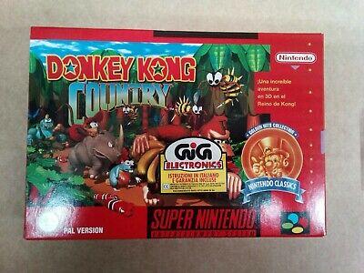 Super Nintendo Donkey Kong Nuevo ULTIMA UNIDAD