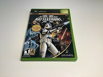 Star Wars: Battlefront II 2 (Xbox, 2005, Original) CIB Complete w/ Registration