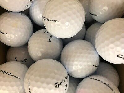 48 TAYLORMADE RBZ SPEED GOLF LAKE BALLS  PEARL / GRADE A  FREE DELIVERY AUC