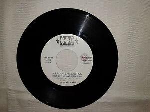 """Afrika Bambaataa / Atahualpa – Disco Vinile 45 Giri 7"""" Edizione Promo JukeBox - Case Campomorto, Italia - L'oggetto può essere restituito - Case Campomorto, Italia"""