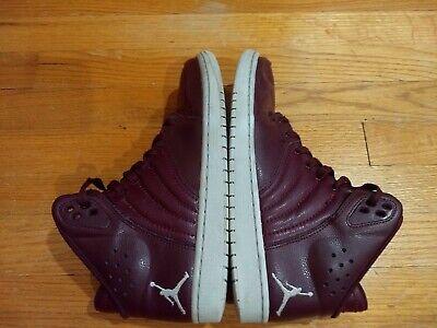 Nike Men's Air Jordan 1 Flight 4 Basketball Shoes 820135-600 Night Maroon Sz 8.5