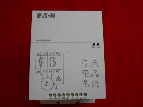 EATON DS7-340SX070N0-L SOFT STARTER;  480VAC,  3-POLE,  50/60HZ