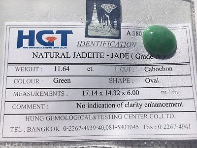 Burmese Jade/Jadeite Cabochon