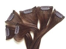 100% Remy Human Hair Extensions - like new! Para Hills Salisbury Area Preview