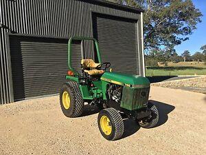 John Deere 755 Utility Tractor Oakbank Adelaide Hills Preview